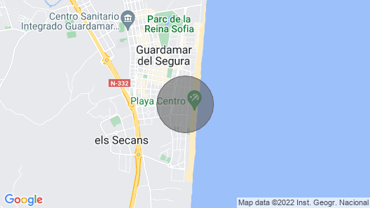 3 Bedroom Apartment 40 Meters From the Beach Map