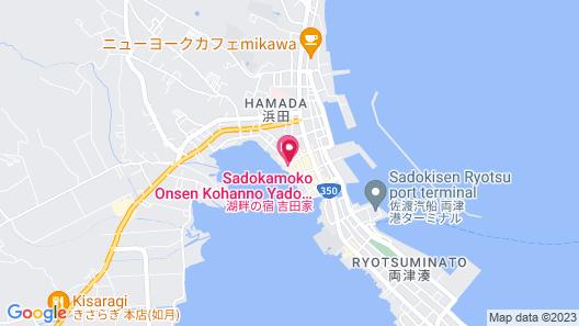 Kohan no Yado Yoshidaya Map