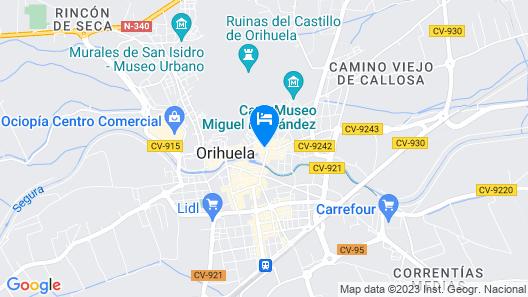 Sercotel Palacio de Tudemir Map