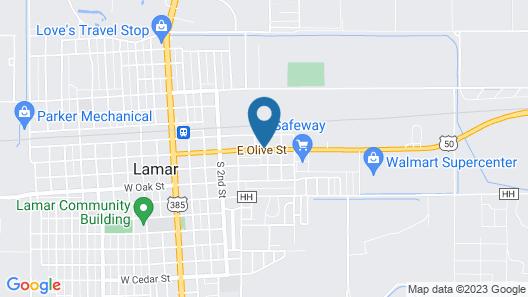 Golden Arrow Motel Map