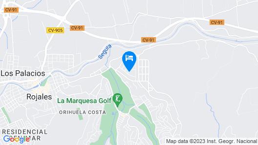 Hotel Costa Blanca Rojales Map