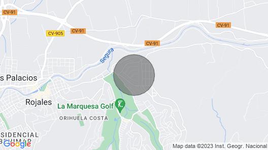 CH Villa Jupiter La Marquesa Map