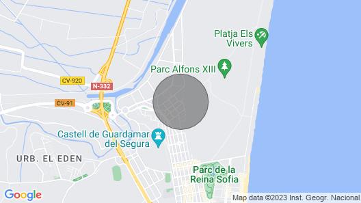 2 Bedroom Accommodation in Guardamar del Segura Map