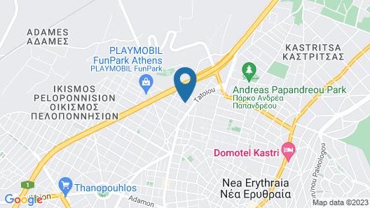 Hotel Chris Map