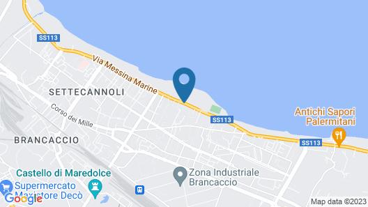Hotel Villa D'Amato Map