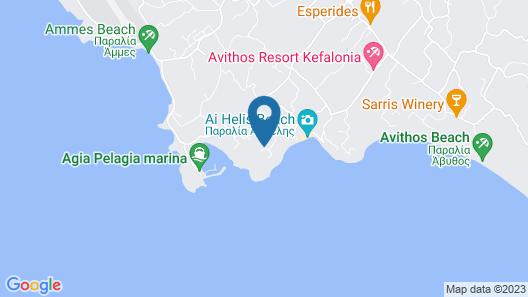 Monambeles Villas Map