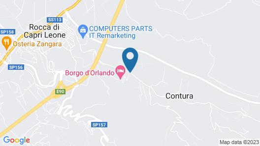 Borgo d'Orlando Map