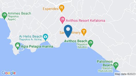 Villa Aethra Map