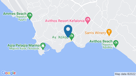 Ai - Helis Resort Hotel Map