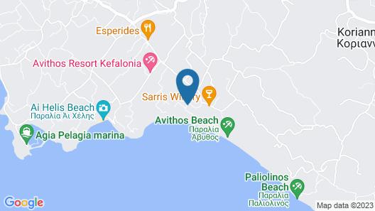Villa Votsalo  Map