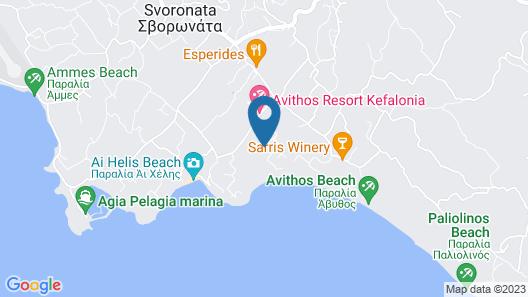 Villa Polymnia  Map