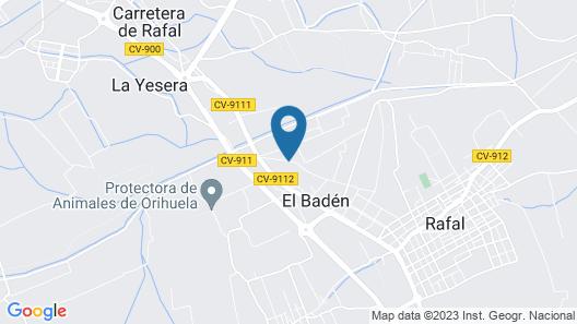 Casa rural LO SOTO Map
