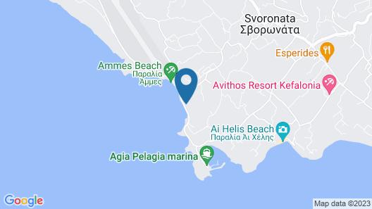 Electra Kefalonia Hotel & Spa Map
