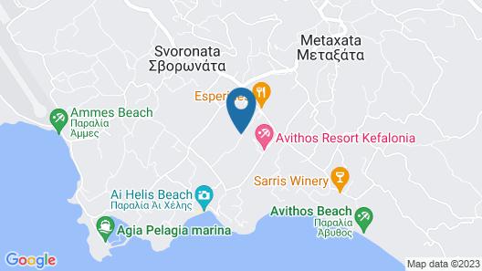 Olive Grove Studios & Apartments Map