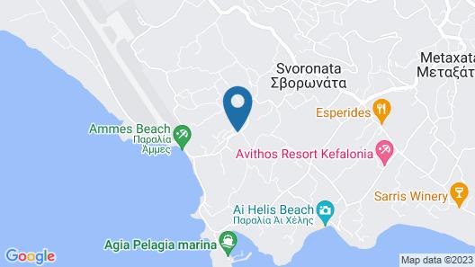 Astra Village Hotel Suites Map