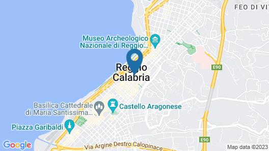 Hotel Medinblu Map