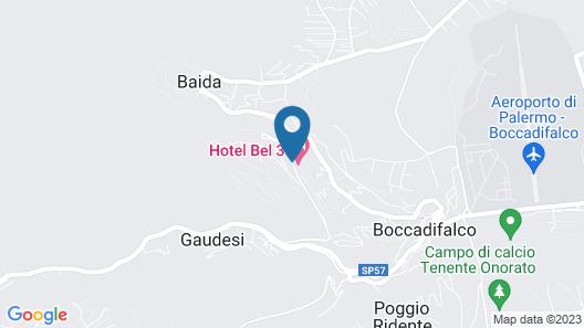 Hotel Bel 3 Map