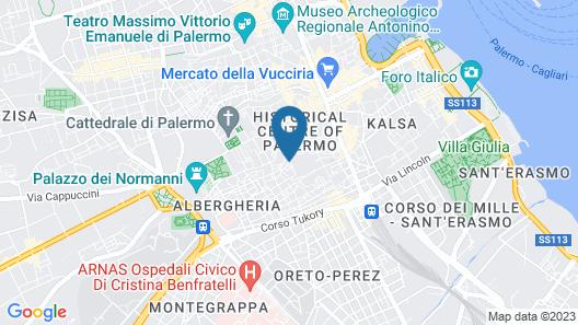Palazzo Brunaccini Map