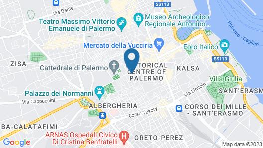 Palazzo Natoli Boutique Hotel Map