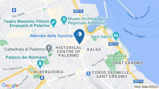Hotel Principe di Lampedusa Map