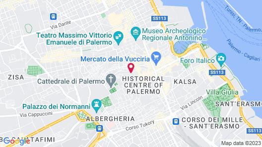 Hotel Columbia Map