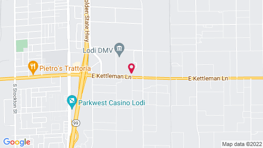 Holiday Inn Express Hotel & Suites Lodi, an IHG Hotel Map