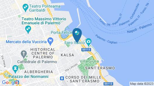 Hotel Porta Felice Map