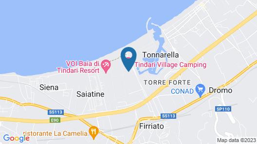 Tindari Village Camping Map