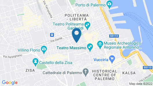 Best Western Ai Cavalieri Hotel Map