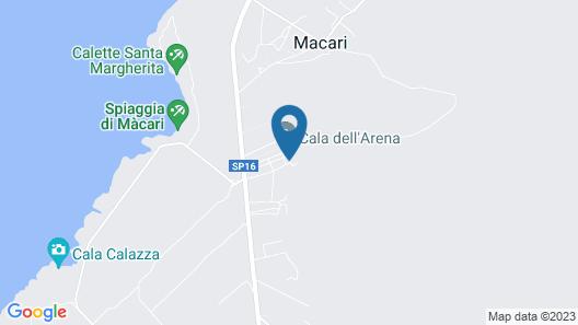 Cala dell'Arena Map