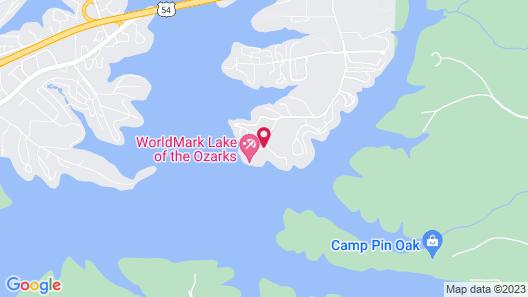 WorldMark Lake of the Ozarks Map