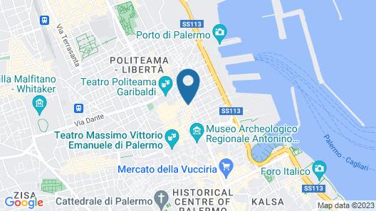 Ibis Styles Palermo Cristal Map