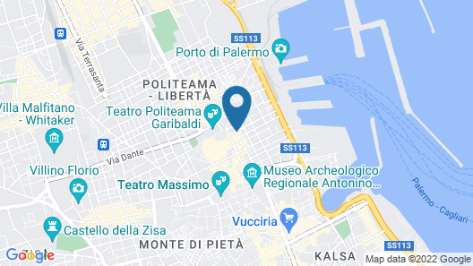 Artemisia Palace Hotel Map