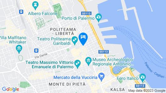 Artemisia Palace Hotel Map