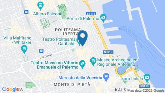 Hotel Garibaldi Map