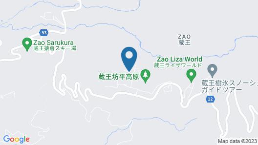 Pension Ishii Map