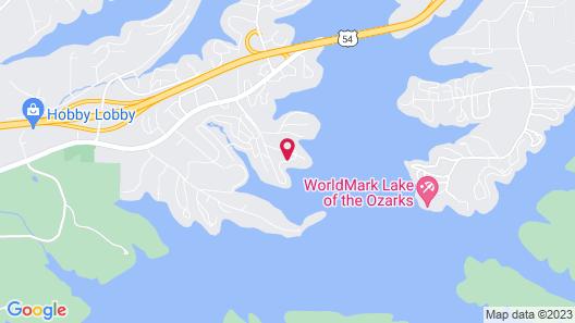 Kapilana Resort Map