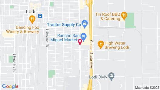 Days Inn & Suites by Wyndham Lodi Map
