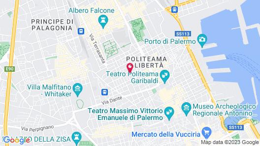 Hotel Principe di Villafranca Map