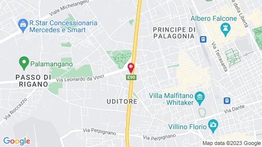 CIT Hotels Dea Palermo Map