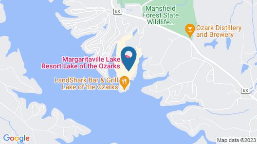 Margaritaville Lake Resort Lake of the Ozarks Map