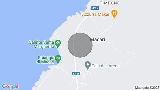 2 Bedroom Accommodation in San Vito lo Capo TP Map