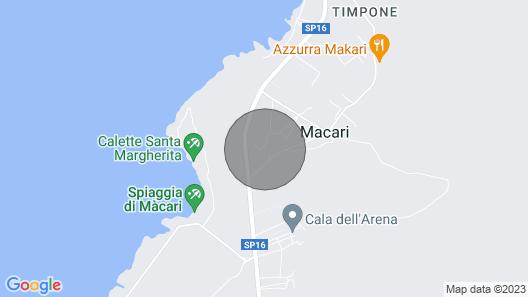 2 Bedroom Accommodation in San Vito Lo Capo Map