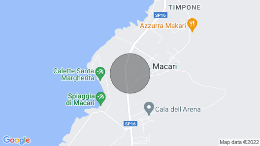 1 Bedroom Accommodation in Macari Map