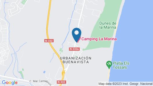 La Marina Resort Map