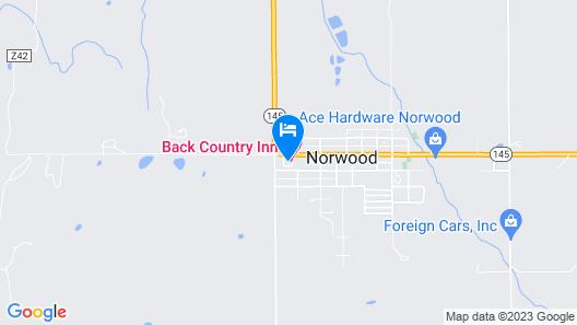 BackCountry Inn Map
