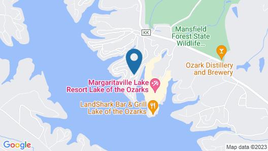 Airy Osage Beach Safari Lodge w/ Hot Tub & Deck! Map
