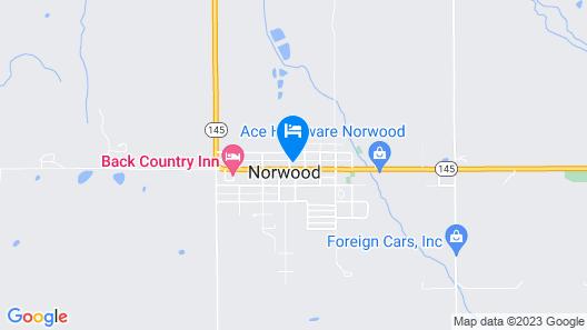 Norwood Inn Map