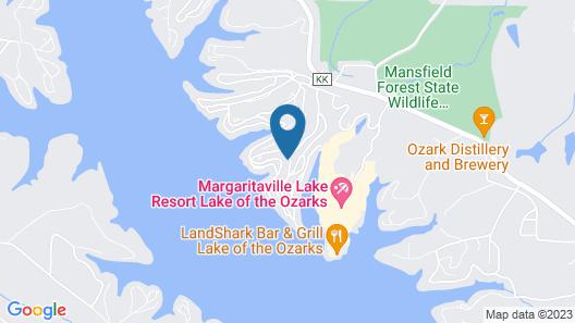 Margaritaville at Lake of the Ozarks pet Friendly Osage Beach, Missouri Map