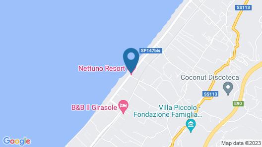 Capo Nettuno Hotel Map